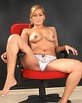 Hot MILF Pilar play the role of Bolivian sexretary