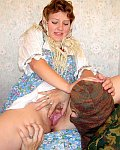 fuck soldier perversion of horny peasant woman sex