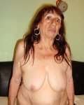 Oldest latina granny is showing off her full sized