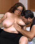 Busty mature latina grannies showing chubby beauty