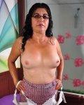Older mature granny latina showing off nude photos