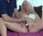 the cameraman helps swedish blonde achieve orgasm
