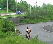 Teen amateur nude babe in emo Pixi public flashing