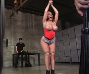 Richelle Ryan training and fucked bound by maledom